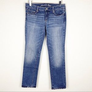 America Eagle Skinny Stretch Denim Jeans